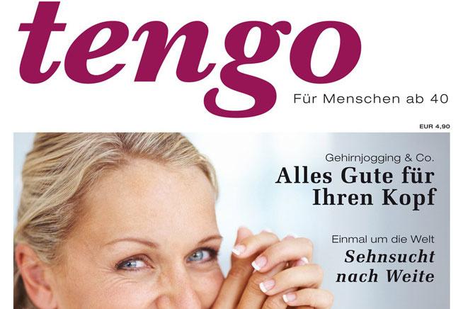 """""""tengo"""" ab 40"""