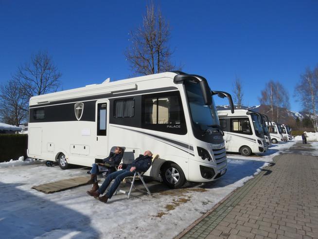 Angenehmer Aufenthalt in Reisemobilen mit Niedrigenergie-Standard