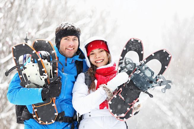 Besonderes Weihnachtsgeschenk: Gemeinsame Abenteuer in verschneiter Natu