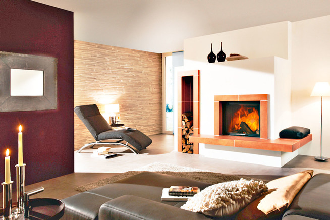 Moderne Kamin- und Kachelöfen vermitteln ein positives Wohn- und Lebens
