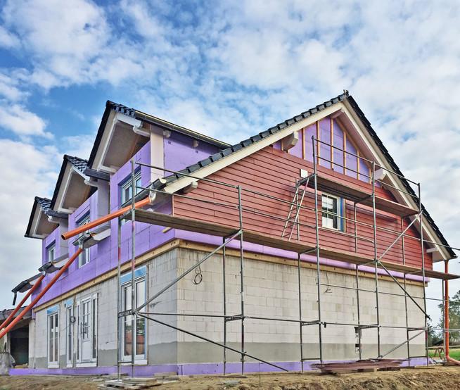 Schon bei der Neubauplanung an eine langlebige und wirksame Dämmung den