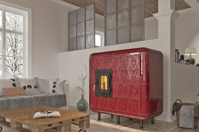 Moderne Kachelöfen, Heizkamine und Kaminöfen tragen zu mehr Wohnqualit