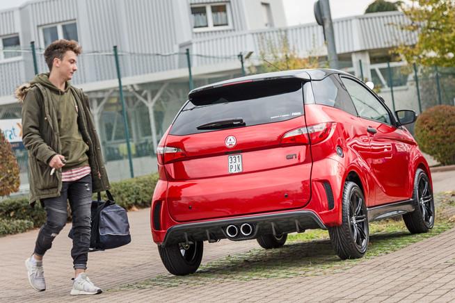 Leichtautos schaffen Flexibilität für Ausbildung, Studium und Freizeit