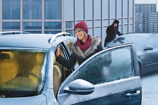 Eine Standheizung sorgt für sicheres Fahren im angenehm vorgewärmten A