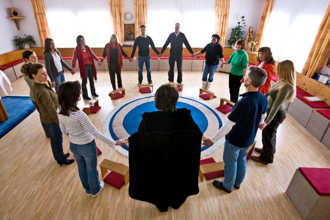 Die therapeutische Gemeinschaft schenkt Kraft zur Genesung