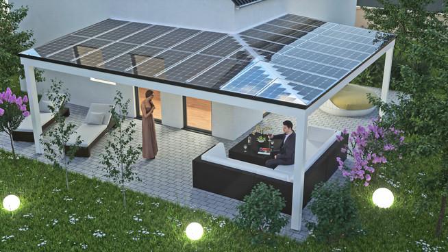 📰 Solardächer erhöhen den Komfort auf der Terrasse und liefern Öko ...