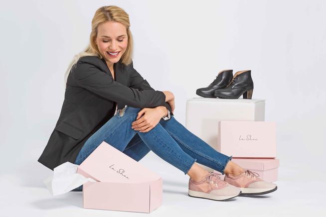 In den richtigen Schuhe finden die Füße genügend Freiraum