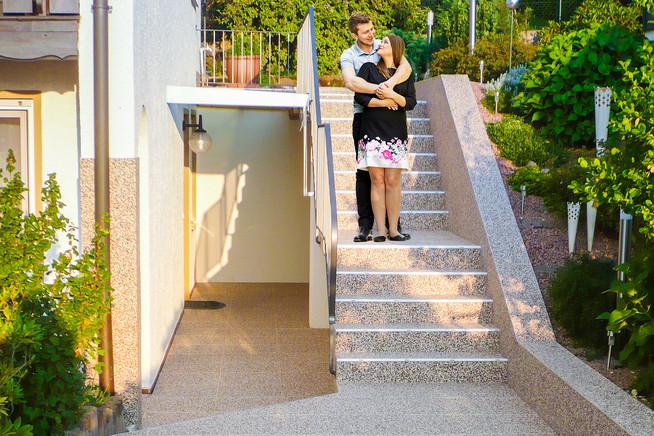 Rutschige Und Ausgetretene Treppen Rund Ums Haus Einfach Und