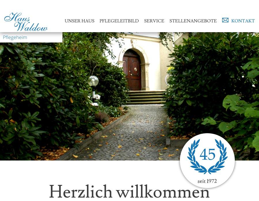 Haus Waldow Senioren Und Pflegeheim Seniorenheim In Berlin